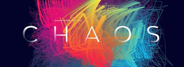 Artistico 3d graffio colorato sfondo futuristico