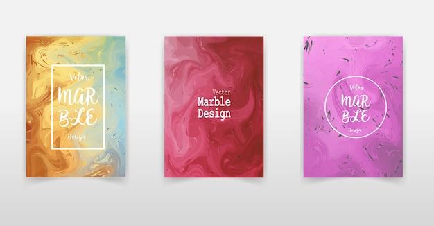 Design artistico delle copertine. struttura di marmo liquido sfondi di colori fluidi creativi.