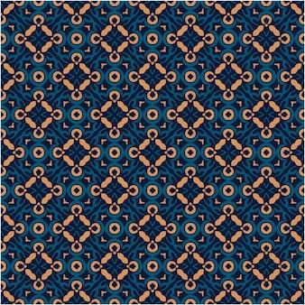 Sfondo con motivo batik asiatico in stile minimalista