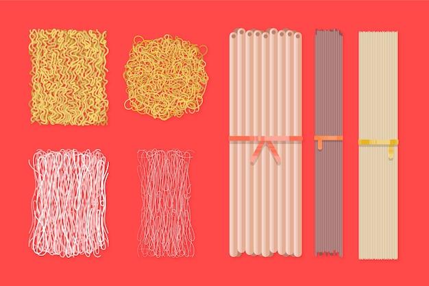 Tipi di spaghetti asiatici