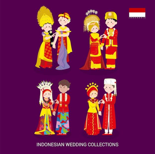 Le collezioni di nozze asiatiche si vestono