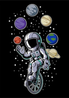 Astronaut circus