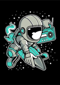 Razzo astronauta