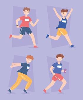 Atleti ragazzi runner
