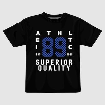 Design della maglietta atletica