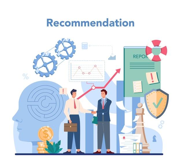 Concetto di audit. ricerca e analisi delle operazioni aziendali. gestione finanziaria professionale. ispezione finanziaria e analisi.