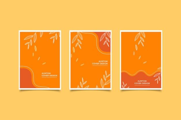 Disegno della copertina dell'autunno