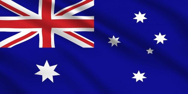 Bandiera australiana, identità nazionale dell'australia.