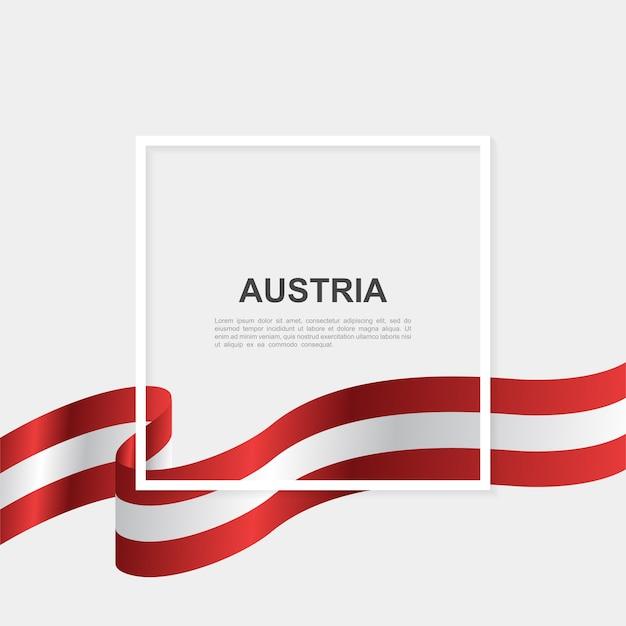 Modello di sfondo giorno dell'indipendenza dell'austria