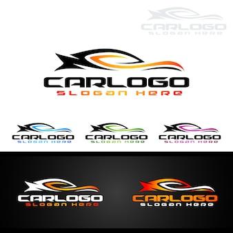 Logo auto per auto sportive
