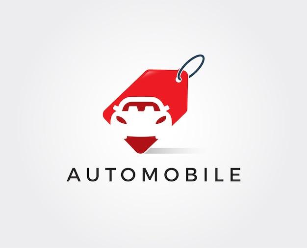 Modello di logo con logo di riparazione automatica