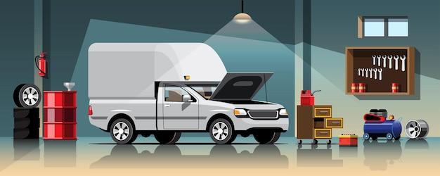 Servizio di riparazione e manutenzione di automobili