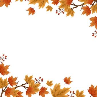 Sfondo di foglie autunnali