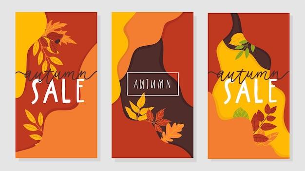 Foglie d'autunno e scritte