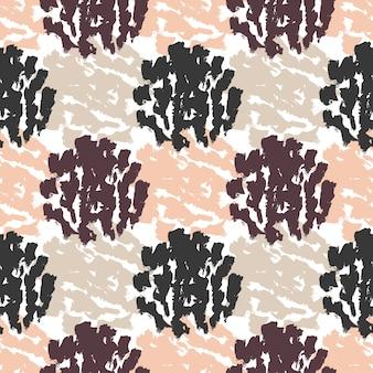 Autunno senza soluzione di pattern texture. mano disegnata sfondo moda hipster.