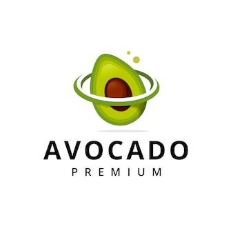 Logo della galassia di avocado