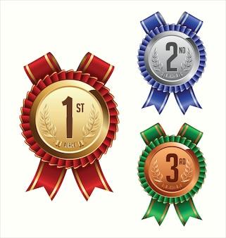 Illustrazione del nastro del premio