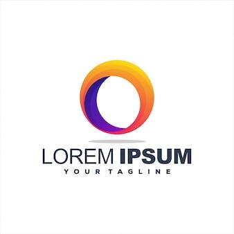 Fantastico logo design gradiente amore