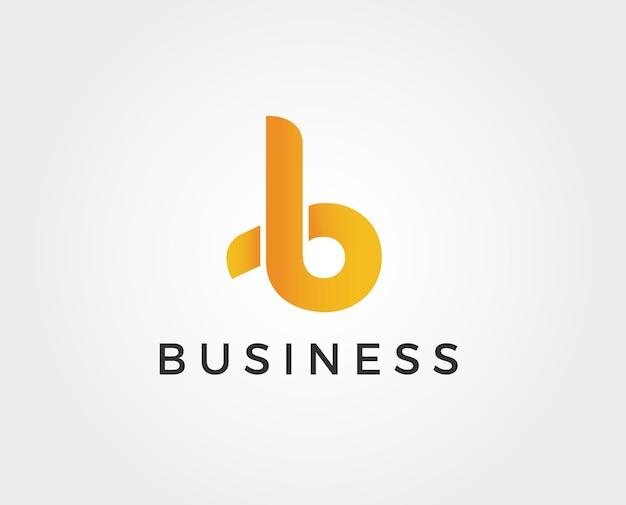 Logo b. disegno della lettera b