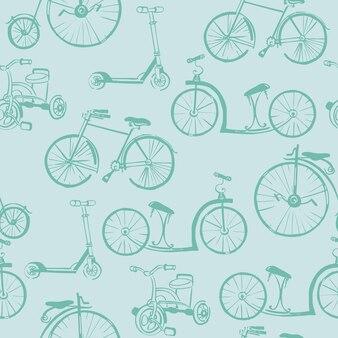 Priorità bassa della bicicletta del bambino