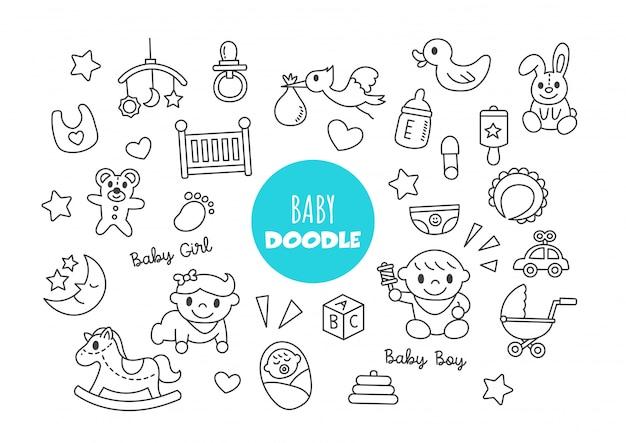 Doodle del bambino