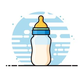 Bottiglie di latte per bambini