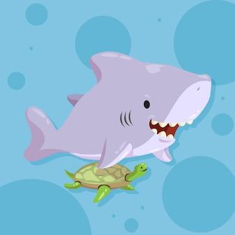 Design piatto baby squalo