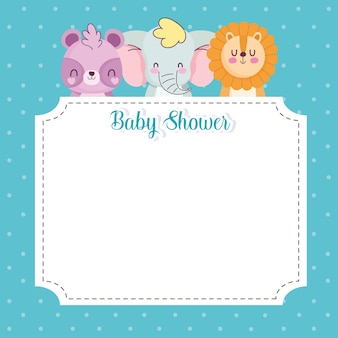 Banner di baby shower