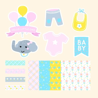 Set di album per baby shower