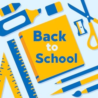 Ritorno al background scolastico marketing social media