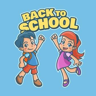 Torna a scuola sfondo.