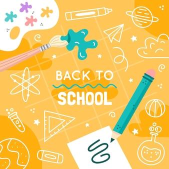 Torna a sfondo del concetto di scuola