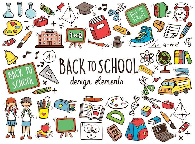 Torna a scuola doodle