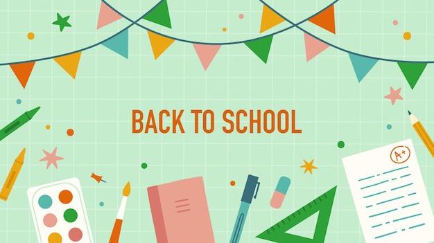Ritorno a scuola cancelleria e articoli per la scuola