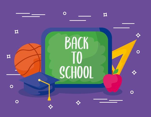Ritorno a scuola con vitto e istruzione