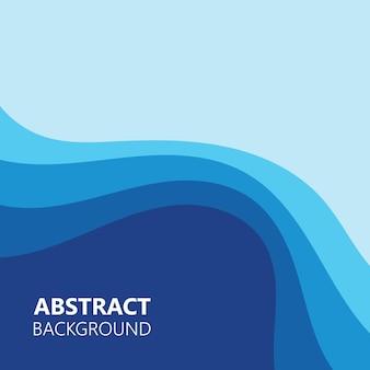 Sfondo astratto colore onda illustrazione vettoriale