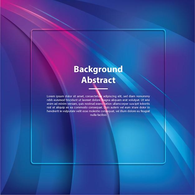 Luce blu del modello astratto del fondo
