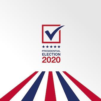 Sfondo elezioni presidenziali 2020