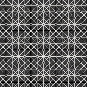 Linea struttura del modello della banda del fondo in bianco e nero