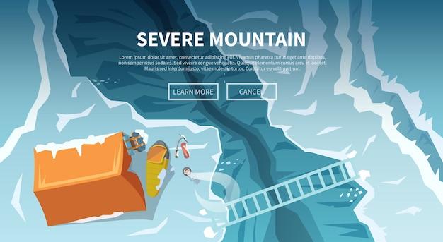 Sfondo sul tema dell'arrampicata