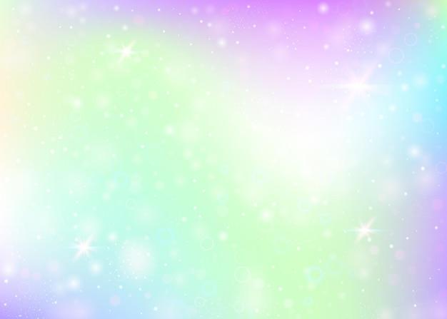 Sfondo con maglia arcobaleno. colori alla moda.