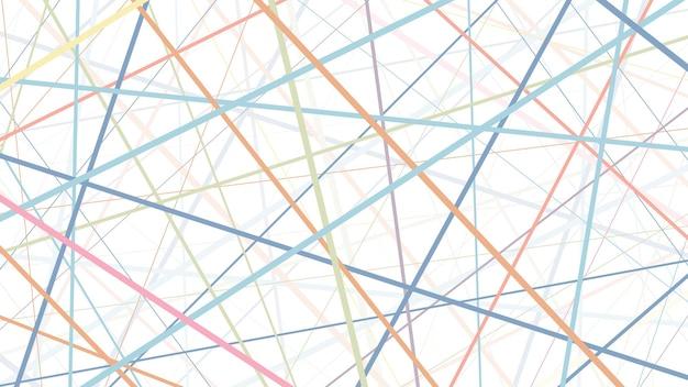 Gli sfondi che utilizzano le linee come elemento principale sono disposti liberamente.