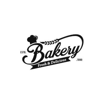 Logo vintage da forno