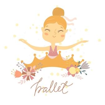 Ballerina ballerina ragazza