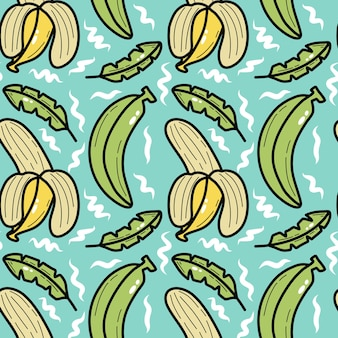Modello senza cuciture di gioco da ragazzi di banana