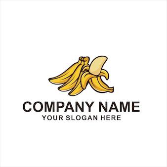 Vettore di logo di banana