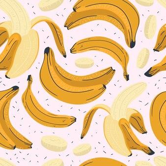 Modello senza cuciture di banana