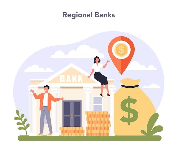 Settore dell'economia dell'industria bancaria