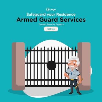 Progettazione di banner per salvaguardare il modello dei servizi di residenza