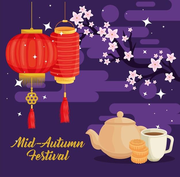 Banner del festival di metà autunno